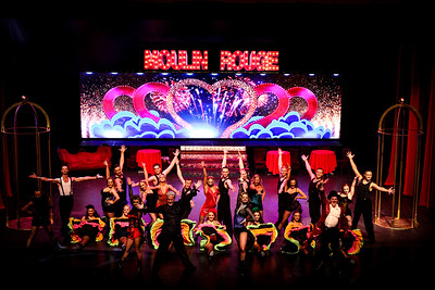 *Pro Show - Moulin Rouge - from Balcony