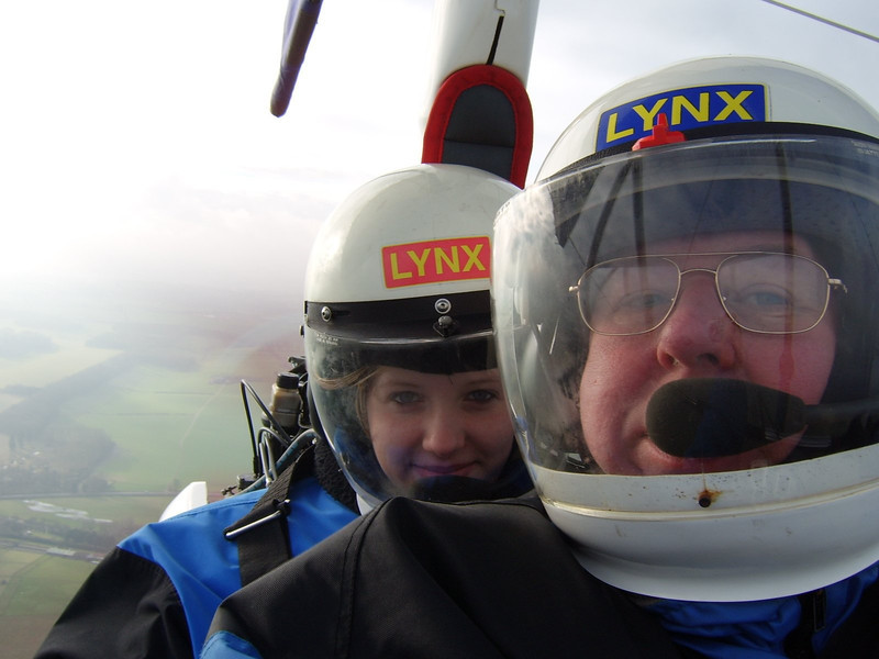 Steve & Amy Bolton In G-MYWG