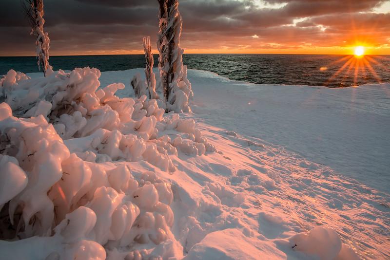 TLR-20190304-9134 Sunset at Point Betsie