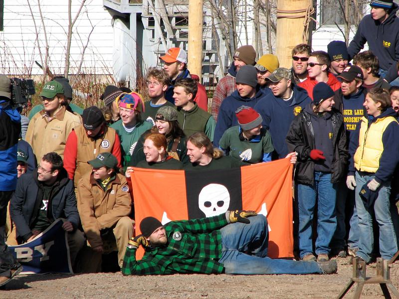 Dartmouth team at NSAC meet 2006, by Julie Clemons