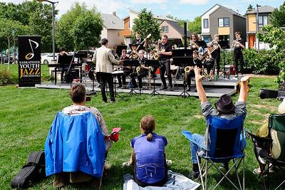 Saskatoon Youth Jazz Orchestra at Sask Jazz Fest 2019 (Jun 29)