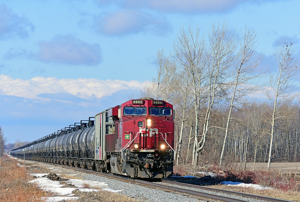 Canadian Pacific 650, Lacolle, Quebec, March 29 2019.