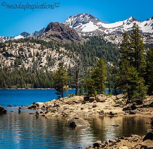 Lake Tahoe, Snowflower &         Lake of the Springs