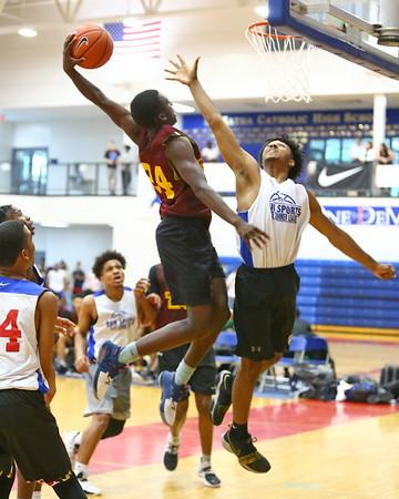 Summer Basketball McNamara vs Takoma Academy