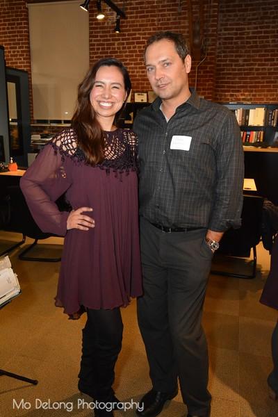 Mayela Solis and Eugene Resheton
