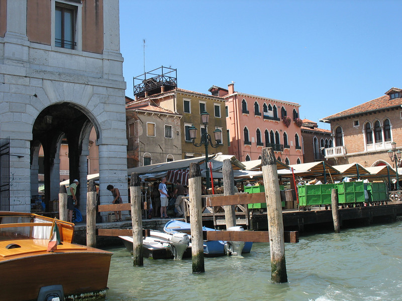 Riding down the Grand Canal