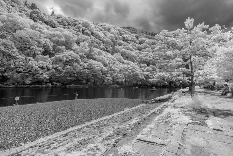 Ōi River, Arashiyama.