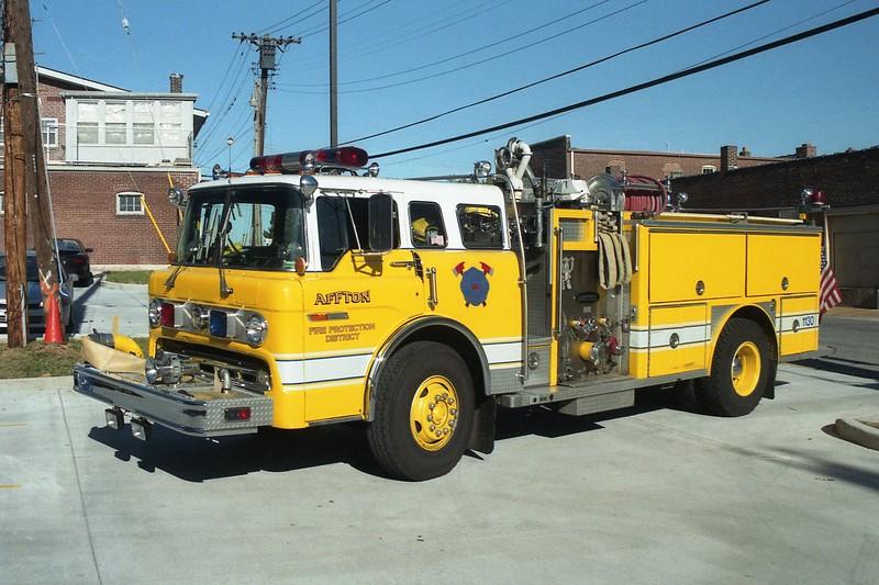 Affton FPD MO - Engine 1130 - 1984 Ford C 8000-E One 1250-500-30F #3855.jpg