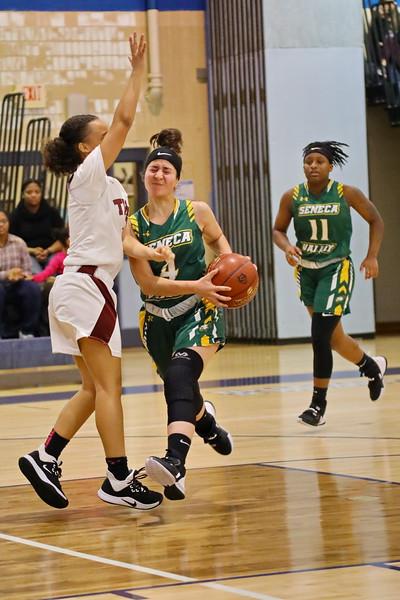 20191226 Girls Varsity Basketball Seneca Valley vs Takoma Academy