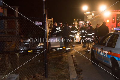 20131204 - Oyster Bay - Car Vs Fence