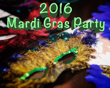 2016 Mardi Gras Party
