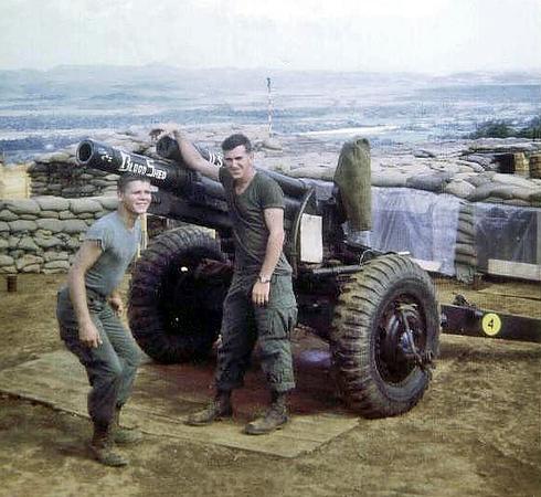 Vietnam Miscellaneous B Battery Photos.