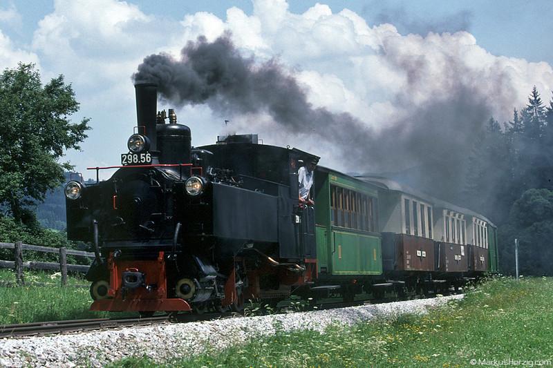 Steam Train @ Lungau Austria 13Jul02