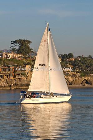 12-21-08 Newport Bay,Balboa and the Boat Parade