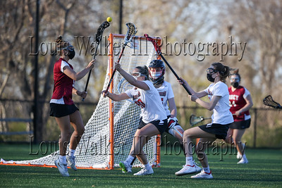 LAX Girls St George's at Abbey on 4/23/21