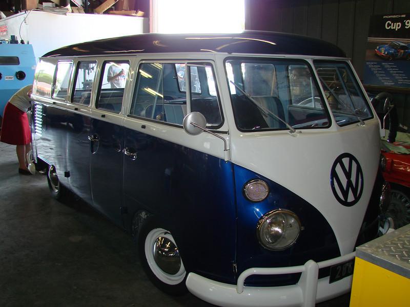 Christine's way hot VW bus
