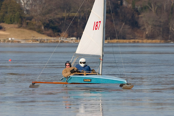Ice Boating in Red Bank, NJ