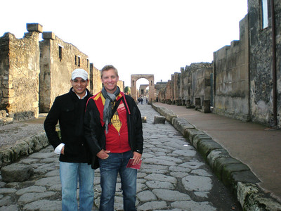 Italy,Greece, Egypt-Marc and Tom December 2008