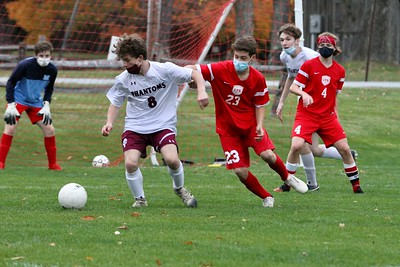 LTS Boys Varsity Soccer vs Proctor photos by Gary Baker