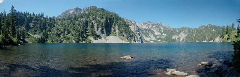 Snow and Gem Lakes, near Alpental