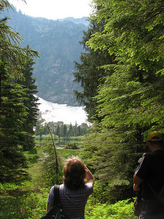 Heather Lake - Mt. Baker National Forest-Snoqualmie 8-17-08
