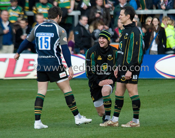 Northampton Saints vs Sale Sharks, Guinness Premiership, Franklin's Gardens, 16 March 2009