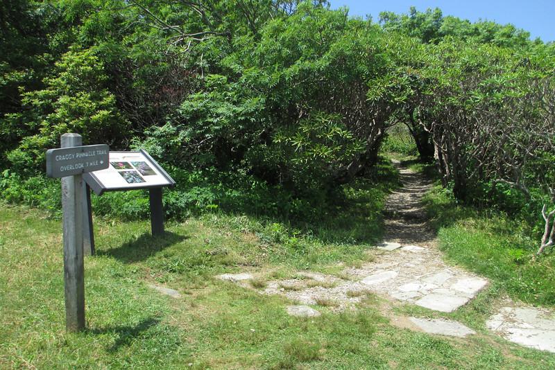 Craggy Pinnacle Trailhead