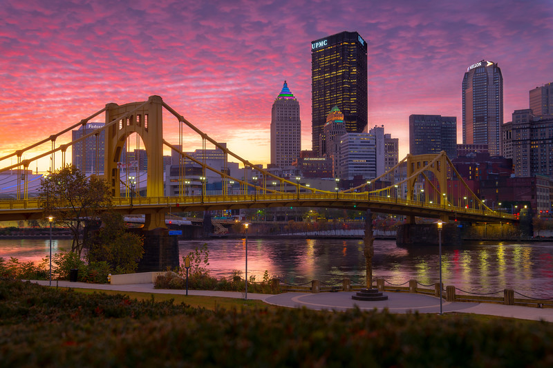 """Pigment of Imagination"" - Pittsburgh, North Shore   Recommended Print sizes*:  4x6  