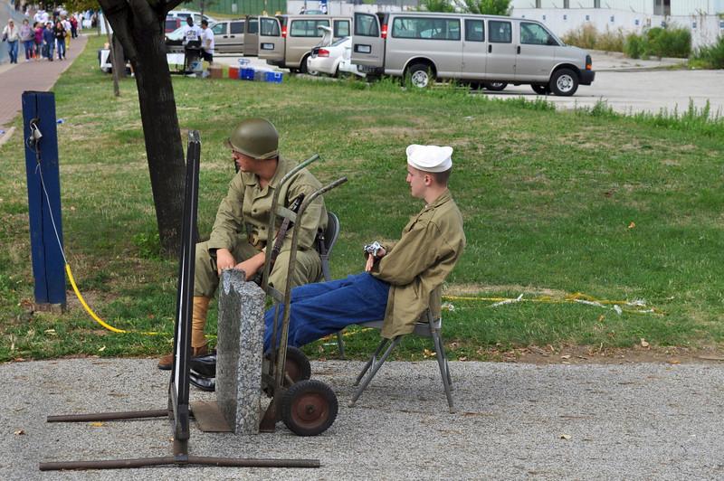 Gatekeepers to World War II Submarine U. S. S. Cod