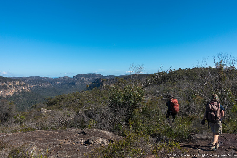Good views from the ridge