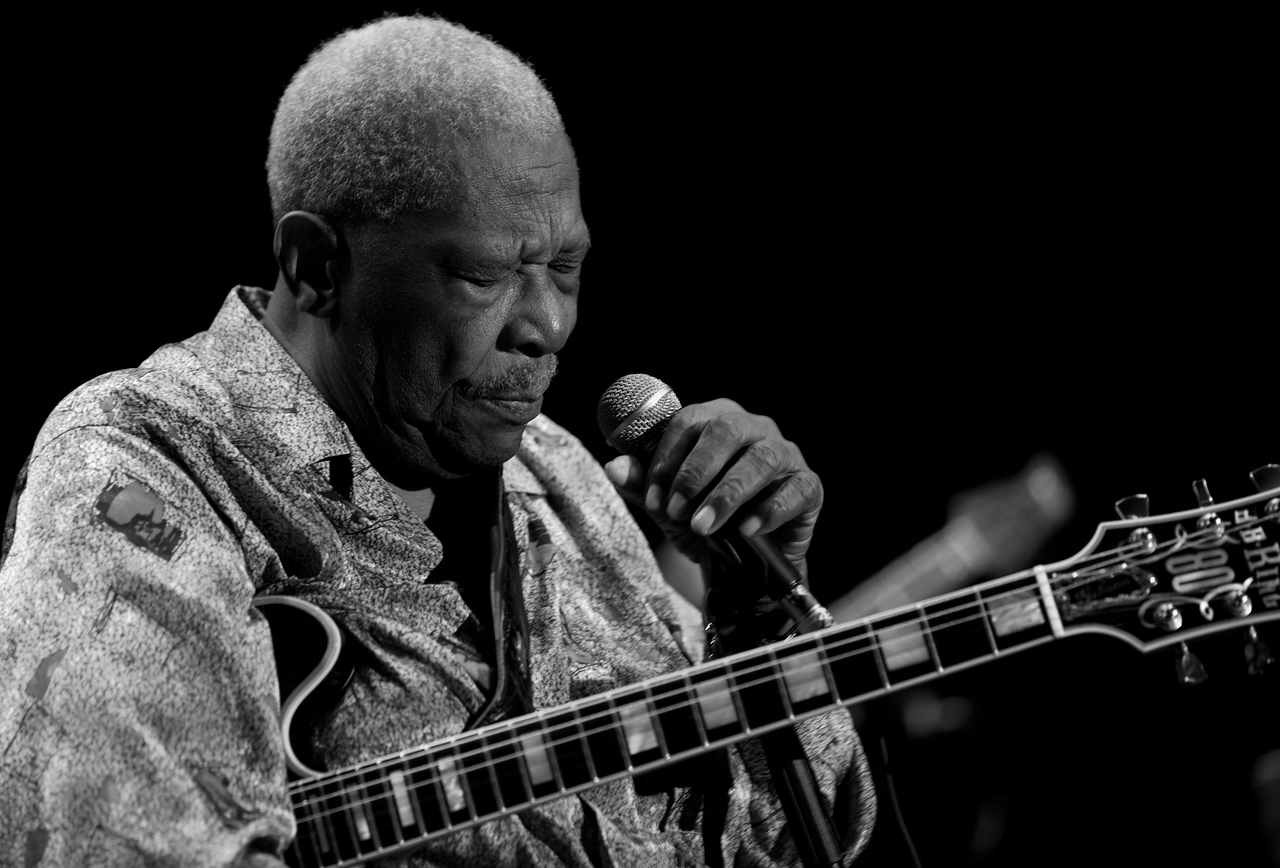 BB King at Jazz à Juan 2011