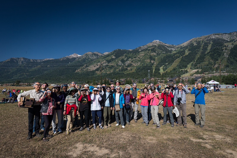 2017 Solar Eclipse, THE Group, Teton NP
