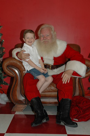 Santa at the Jumping Bean Nov 8, 2007