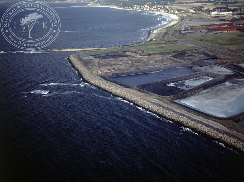 Höganäs, dams close to the coast (1990) | PH.0610