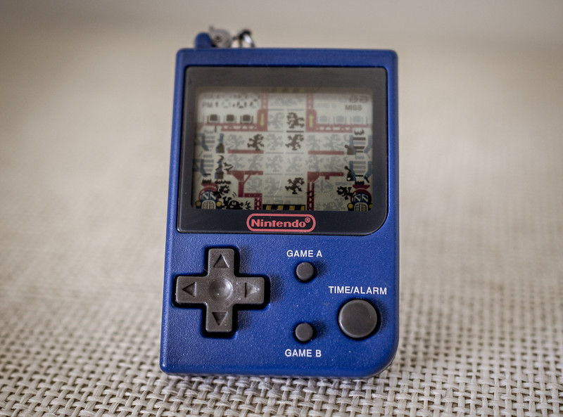 Old Nintendo portable game