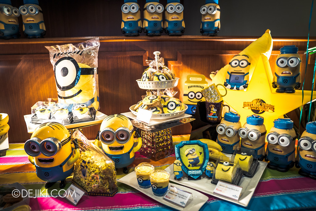 Despicable Me Breakout Party at Universal Studios Singapore / Minion-themed food and snacks 2