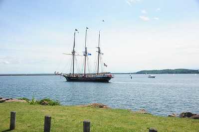 Tall Ships in Marquette 2013