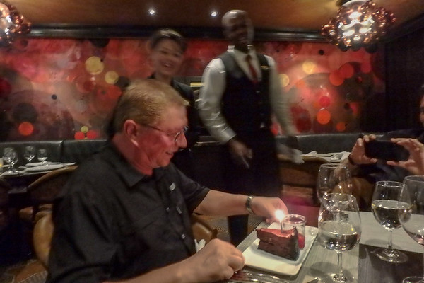 My 60th bday celebration on the cruise, March 2018