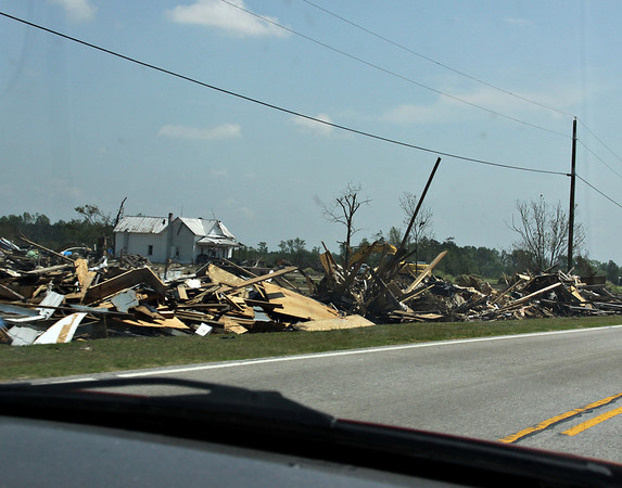 Johnston County Tornado Damage - April 2011