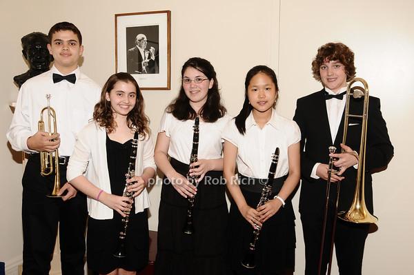 David Acevedo, Maya Trzewski, Julia Medina, Jihye Kim, Will Gebbie photo by Rob Rich © 2010 robwayne1@aol.com 516-676-3939