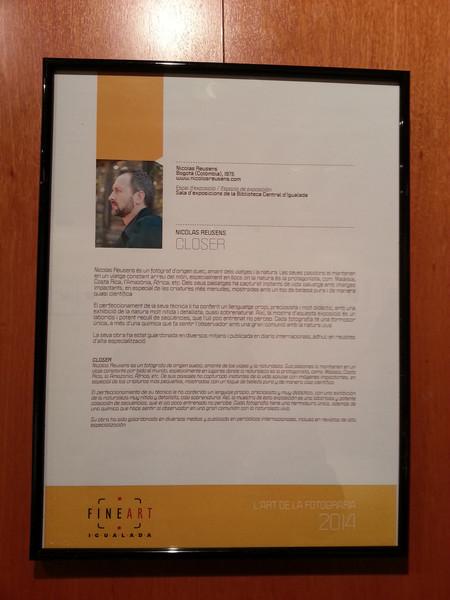 Fineart Igualada, Photo exhibition