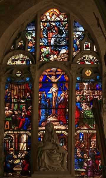 Bar-sur-Seine Church of Saint-Stephen, The Crucifixion