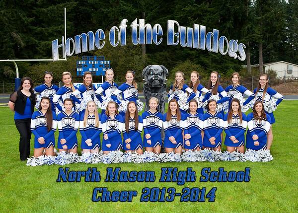 cheer team 5x7