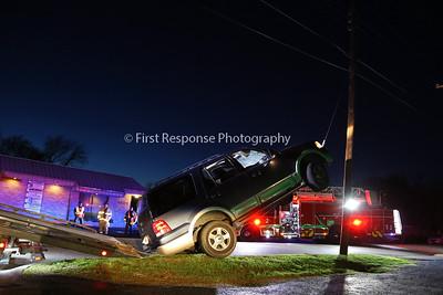 McKinney Texas. SUV vs. Guy wire. Waddill @Pearson 3/24/16