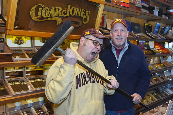 da Axe at CigarJones