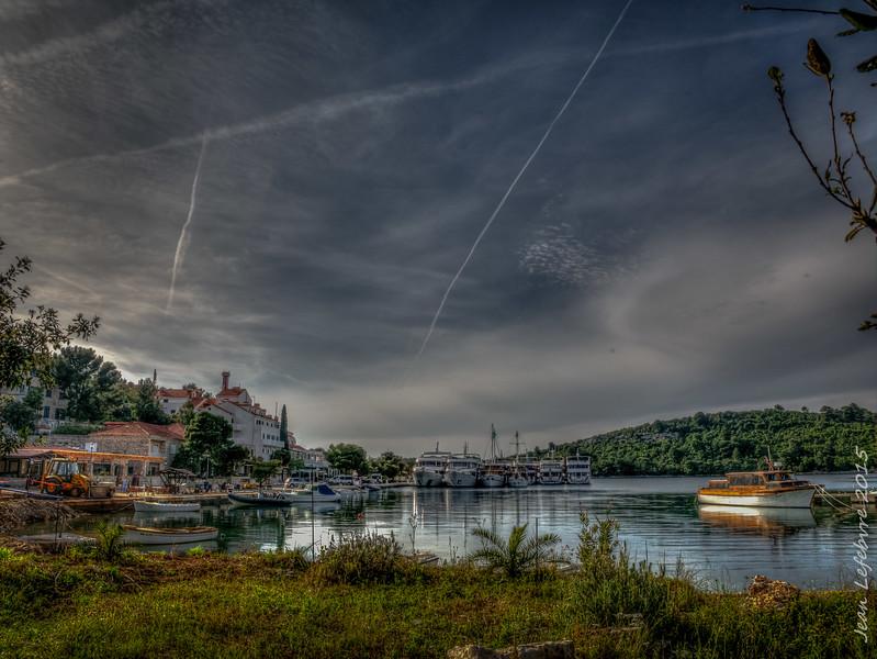 Pomena Harbour, Dalmatian Islands