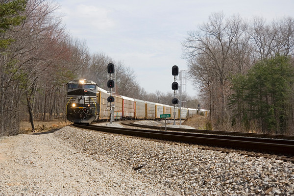 A Saturday Between Crewe and Brookneal (03/15/2008)
