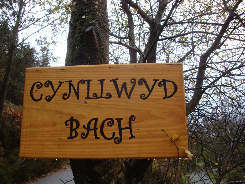 Mysterious Welsh runes reminded us we were in Lord of the Rings country :)