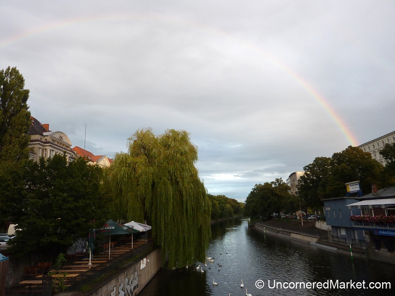 First Rainbow in Berlin - Kreuzberg