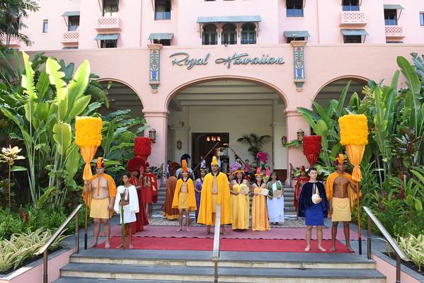 Aloha Festivals - Investiture Ceremony  9-5-15